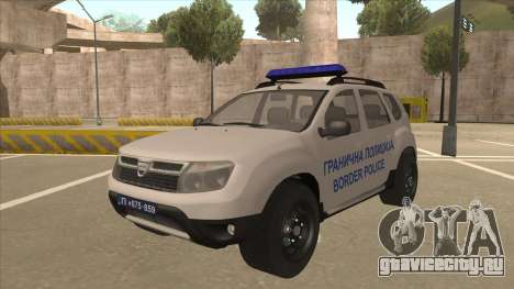 Dacia Duster Granična Policija для GTA San Andreas