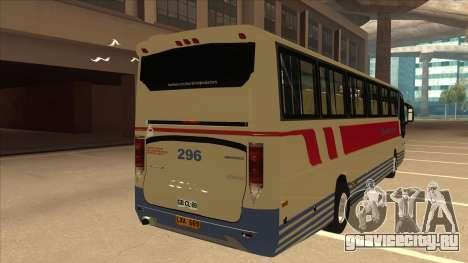 Davao Metro Shuttle 296 для GTA San Andreas вид справа