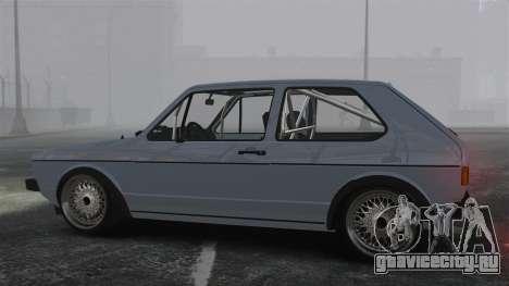 Volkswagen Golf MK1 GTI Update v1 для GTA 4 вид слева