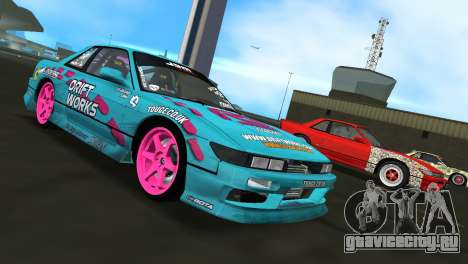 Nissan Silvia S13 Drift Works для GTA Vice City