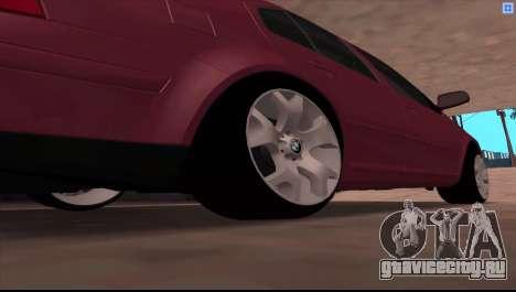 Volkswagen Bora V6 Stance для GTA San Andreas вид справа