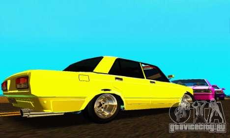 ВАЗ 2107 VIP для GTA San Andreas вид справа