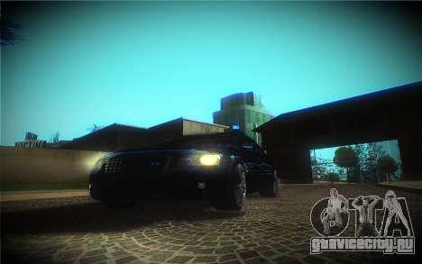 Audi A8L D3 для GTA San Andreas вид сбоку