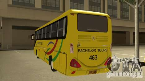 Kinglong XMQ6126Y - Bachelor Tours 463 для GTA San Andreas вид сзади