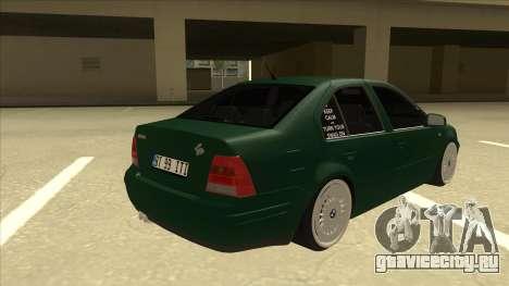 VW Bora для GTA San Andreas вид справа