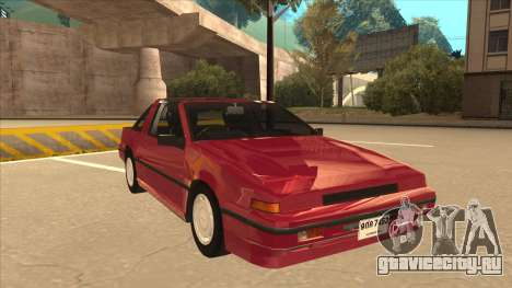 Nissan EXA L.A. Version для GTA San Andreas вид слева