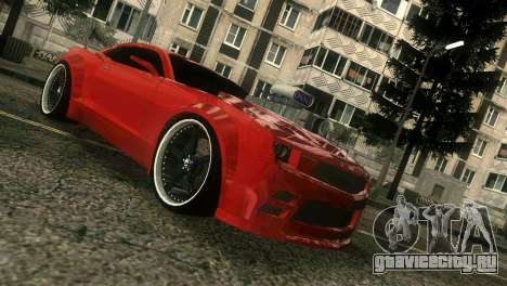 Chevrolet Camaro JR Tuning для GTA Vice City вид слева
