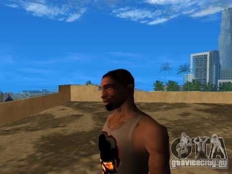 Новое лицо CJ для GTA San Andreas третий скриншот