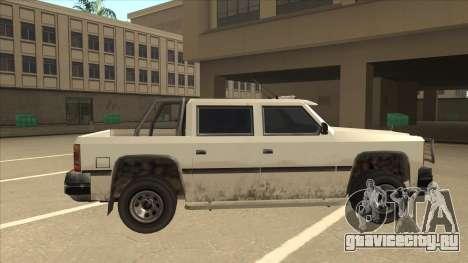 Declasse Rancher FXT для GTA San Andreas вид сзади слева