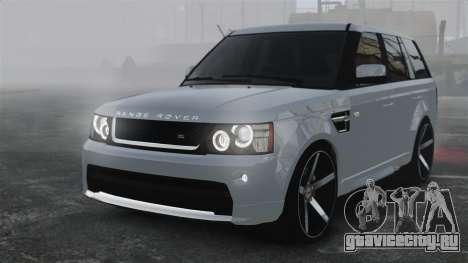Range Rover Sport Autobiography 2013 Vossen для GTA 4