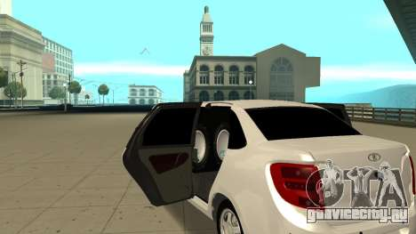 Lada Granta Лимузин для GTA San Andreas вид справа