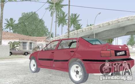 Volkswagen Vento для GTA San Andreas вид сбоку