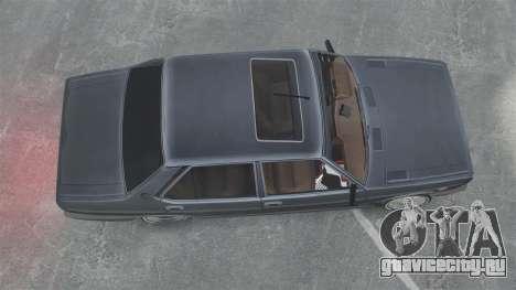Fiat 131 для GTA 4 вид справа