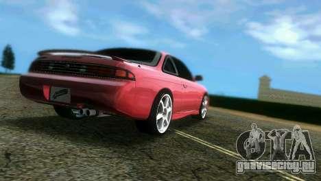 Nissan Silvia S14 Light Tuning для GTA Vice City вид слева