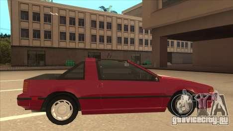 Nissan EXA L.A. Version для GTA San Andreas вид сзади слева