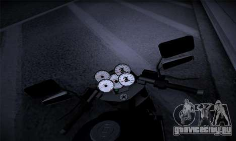Ducati FCR900 2013 для GTA San Andreas вид сзади
