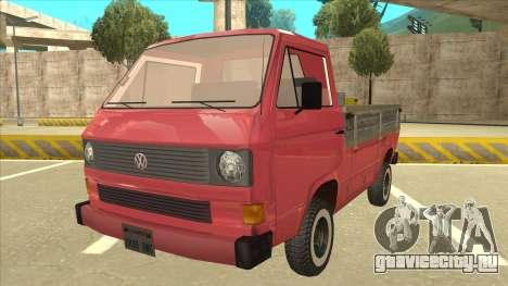 Volkswagen Transporter T3 Pritsche для GTA San Andreas