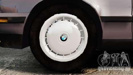 BMW 535 E34 Touring для GTA 4 вид сзади