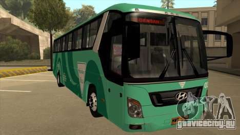 Holiday Bus 03 для GTA San Andreas вид слева