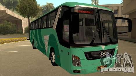 Holiday Bus 03 для GTA San Andreas вид слева