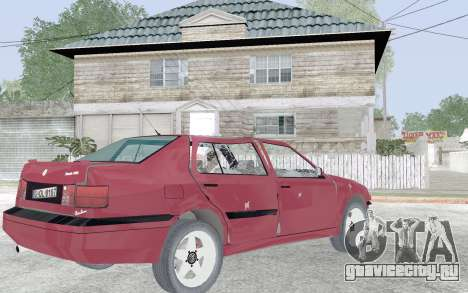 Volkswagen Vento для GTA San Andreas вид сверху