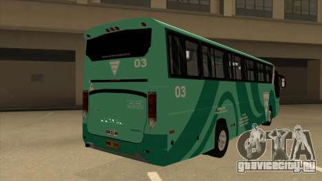 Holiday Bus 03 для GTA San Andreas вид справа