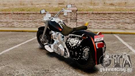 Harley-Davidson для GTA 4 вид слева