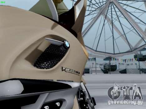 BMW K1200LT для GTA San Andreas вид сзади слева