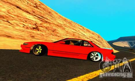 Nissan Silvia S13 HellaDrift для GTA San Andreas вид сверху