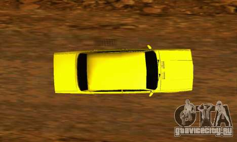ВАЗ 2107 VIP для GTA San Andreas вид сзади