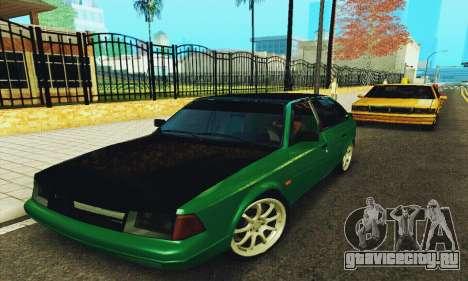 АЗЛК 2141 Black Tuning для GTA San Andreas