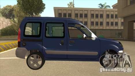 RENAULT KANGOO v2 для GTA San Andreas вид сзади слева
