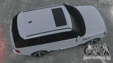Range Rover Sport Autobiography 2013 Vossen для GTA 4 вид справа
