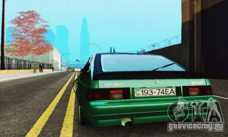 АЗЛК 2141 Black Tuning для GTA San Andreas вид изнутри