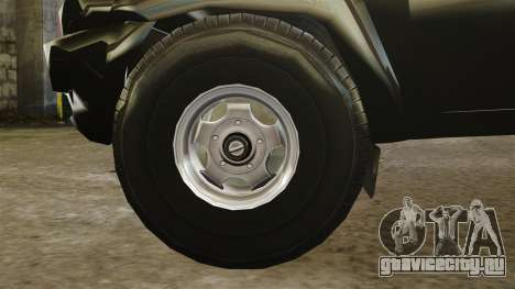 УАЗ Патриот пикап для GTA 4 вид изнутри