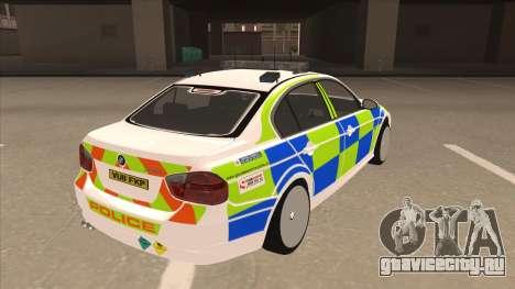 European Emergency BMW 330 для GTA San Andreas вид справа