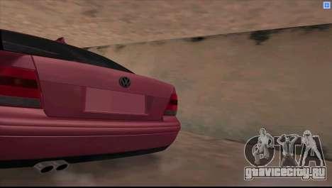 Volkswagen Bora V6 Stance для GTA San Andreas вид слева
