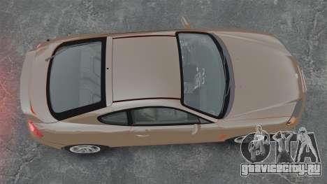 Hyundai Tiburon для GTA 4 вид справа