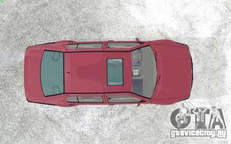 Volkswagen Vento для GTA San Andreas вид сзади