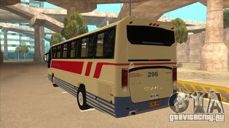 Davao Metro Shuttle 296 для GTA San Andreas вид сзади