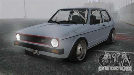 Volkswagen Golf MK1 GTI Update v1 для GTA 4