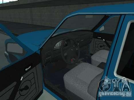 ГАЗ 310221 для GTA San Andreas вид сзади