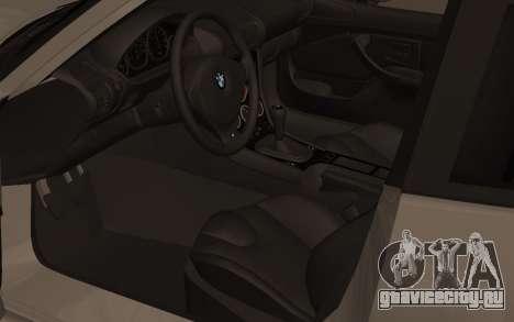 BMW Z3 M Power 2002 для GTA San Andreas вид сзади