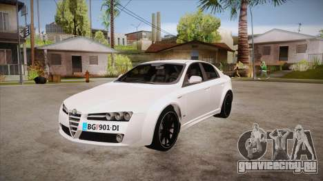 Alfa Romeo 159 для GTA San Andreas