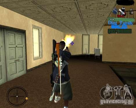 C-Hud for SA:MP для GTA San Andreas