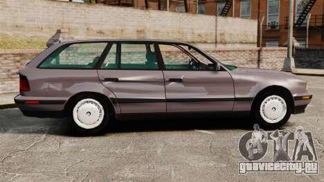 BMW 535 E34 Touring для GTA 4 вид слева