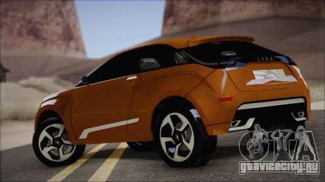 Lada X-Ray для GTA San Andreas вид сзади слева
