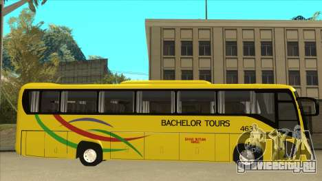 Kinglong XMQ6126Y - Bachelor Tours 463 для GTA San Andreas вид сзади слева