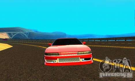 Nissan Silvia S13 HellaDrift для GTA San Andreas вид сбоку