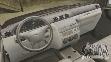УАЗ Патриот пикап для GTA 4 вид сзади